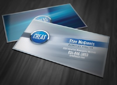 Abstract Effects Business Card