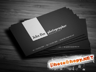 Photographer Business Card 3