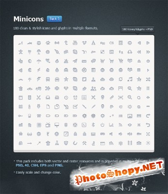 Mini Icons Pack 1