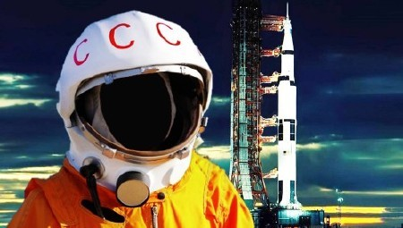 Шаблон для мужчин-на космодроме