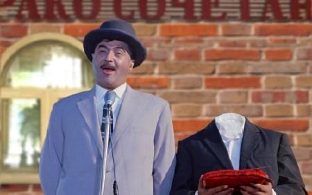 Шаблон для мужчин-речь перед дворцом бракосочетания