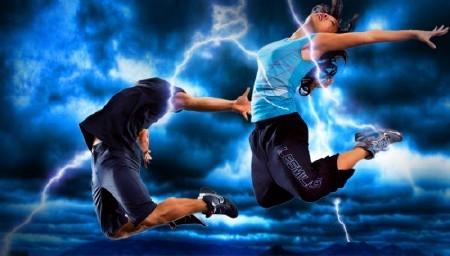 Фотошаблон для мужчин-прыжки в молнию