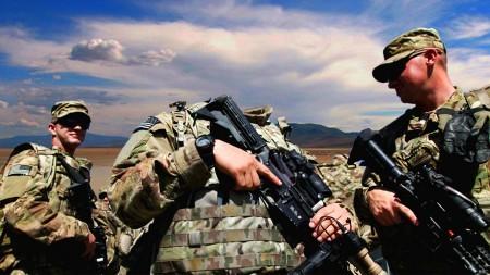 Фотошаблон для мужчин-американский спецназ