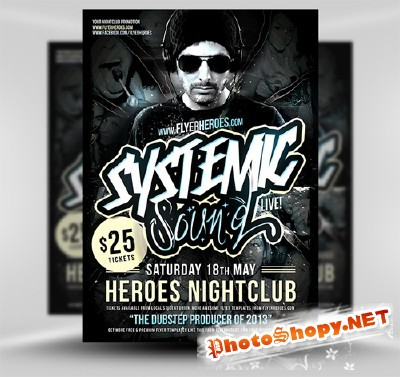 Systemic Flyer Template PSD