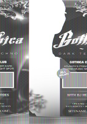 Gothica Flyer Template PSD