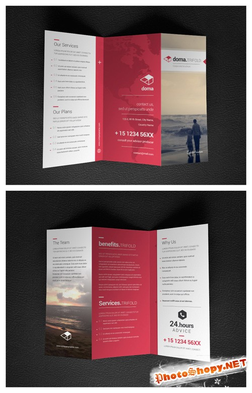 Doma Corporate Trifold
