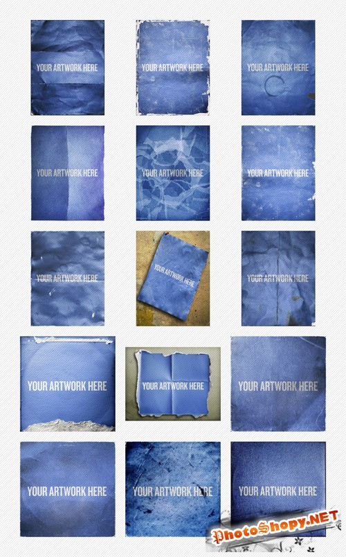 Distressed Poster PSD Templates v2