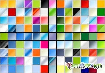 Фотошоп градиенты в стиле Web 2.0