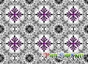 Мраморные цветочки