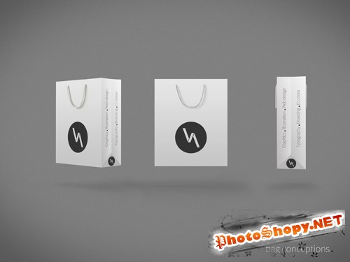 Bag Mock-up Templates PSD
