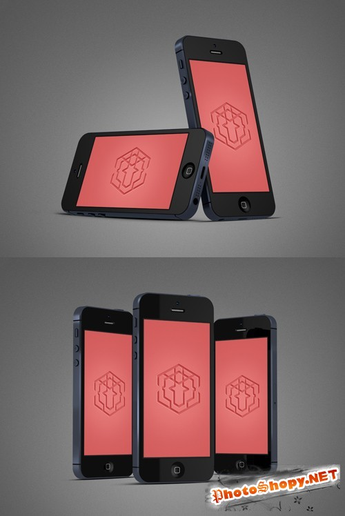 2 Phone Mock-Up Templates PSD