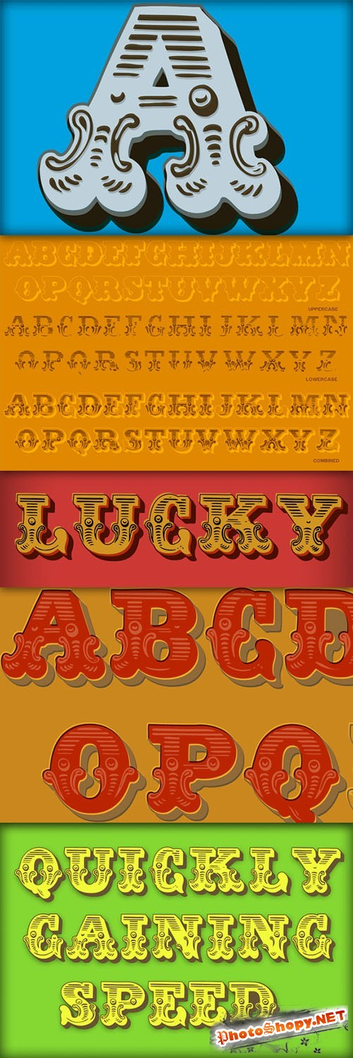 Dusty Circus LTD - TTF Fonts