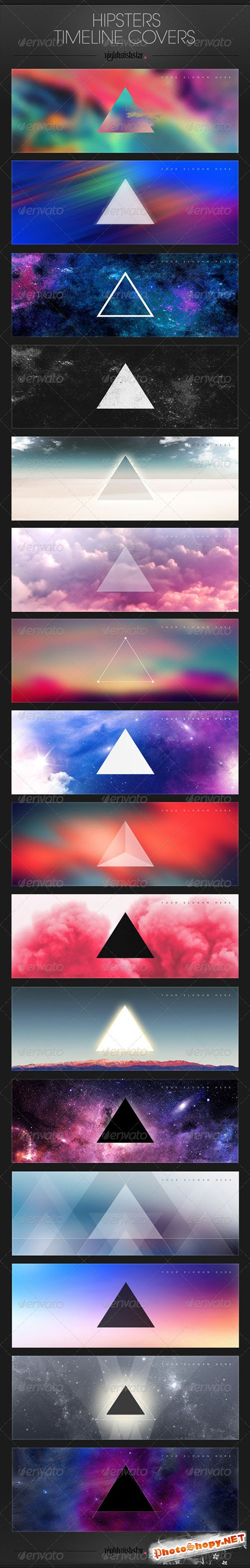 GraphicRiver - Hipster Facebook Timeline Covers 6321015