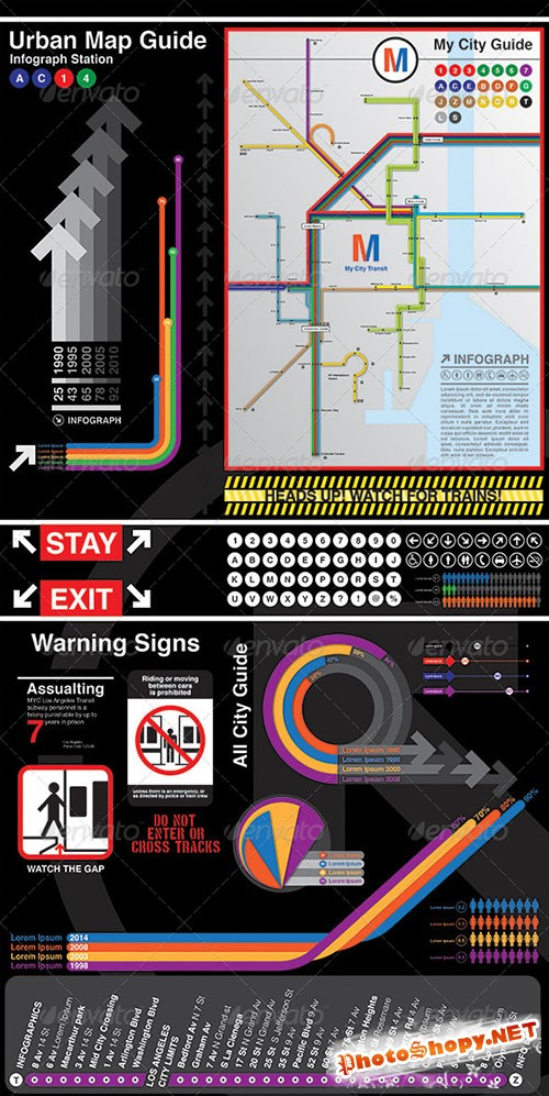 GraphicRiver - Infographics My City Guide 6405304