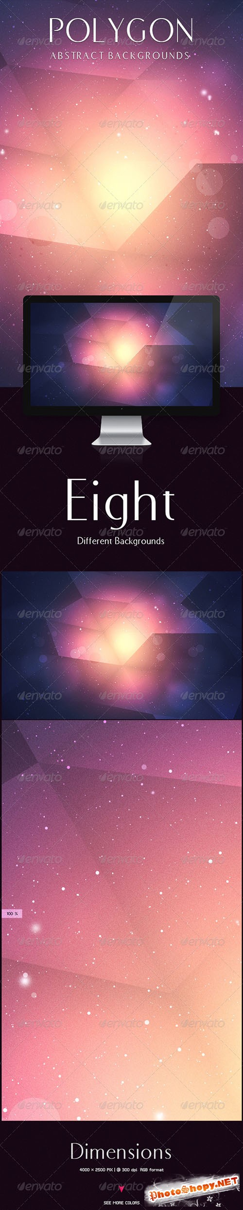 GraphicRiver - Polygon Backgrounds 5853498