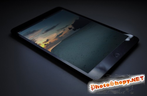 iPad Mock-Up Template PSD