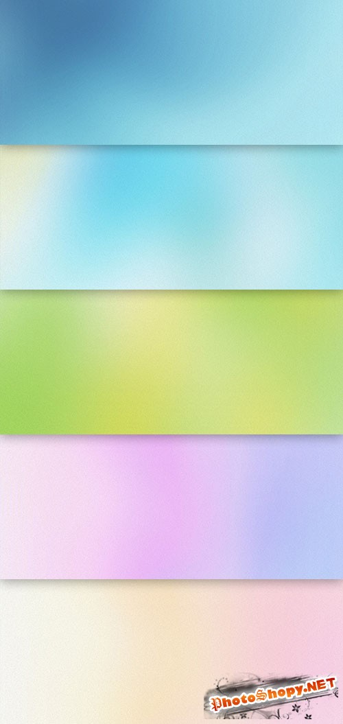 Smooth Gradients Background PSD Temlate