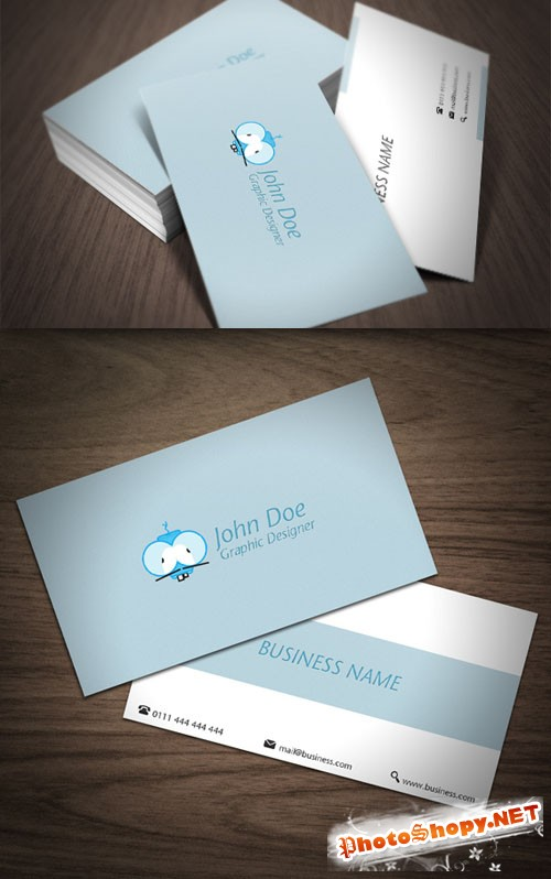 Premium Business Card Mock-Up PSD Template #4
