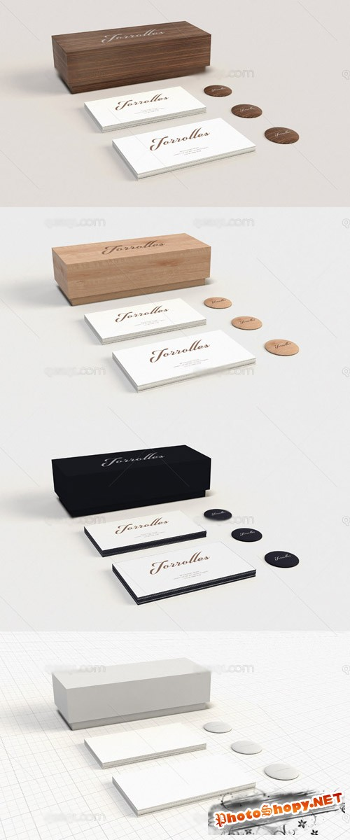 Stationery Mock up Template PSD