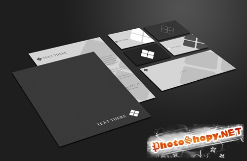 Stationery Mock Up Template Xi PSD