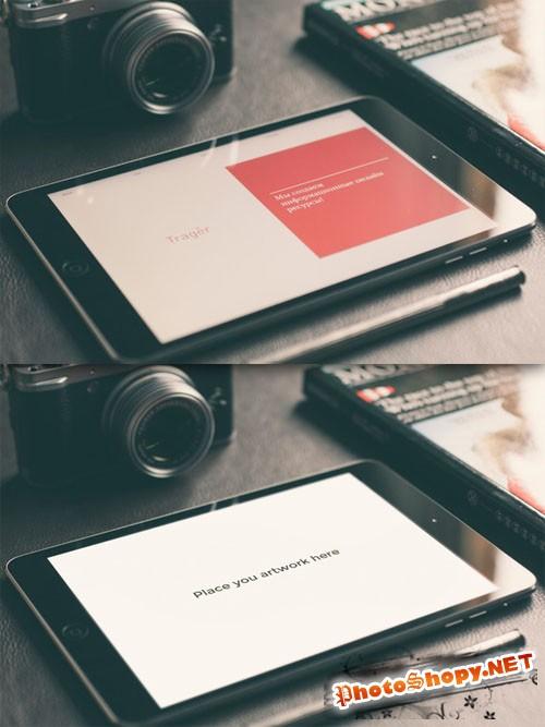 CreativeMarket - iPad Mini Retina Mock-up