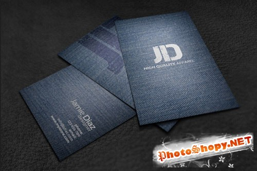 Creativemarket - Jeans Style Card 2