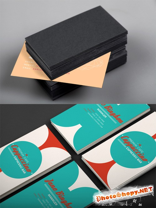 Realistic Business Card Mockup Vol 1