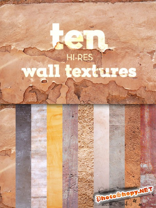 CreativeMarket - Ten Wall Textures