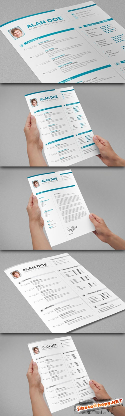 CreativeMarket - Professional Resume & Cover Letter