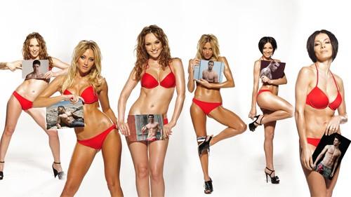 Рамка для фотографии - 6 девушек с вашими фото