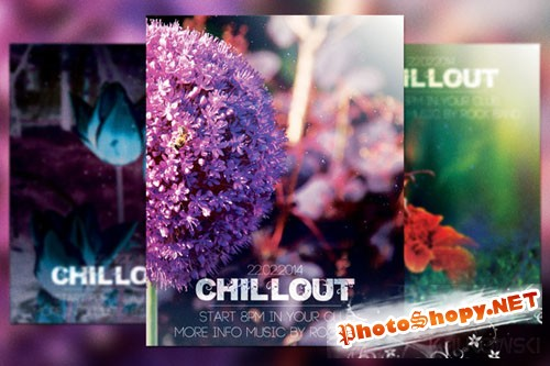 CreativeMarket - Chillout Flyer 2705