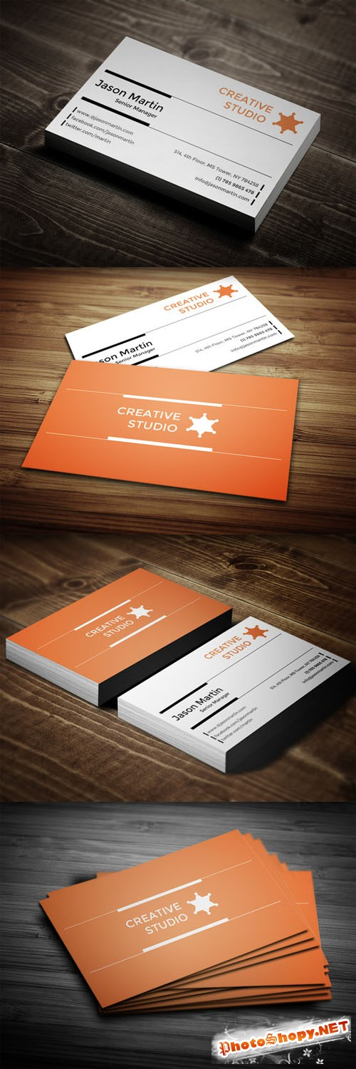 CreativeMarket - Creative & Corporate Business Card