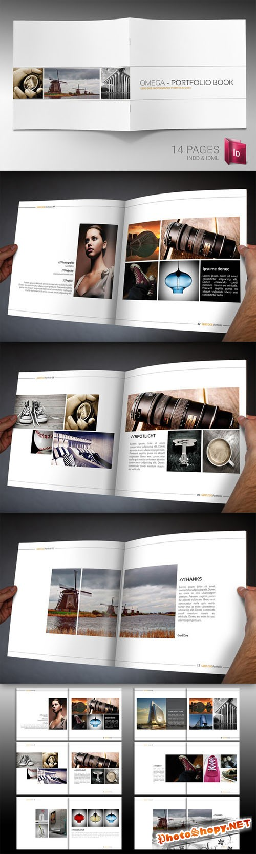 CreativeMarket - Indesign Brochure Template