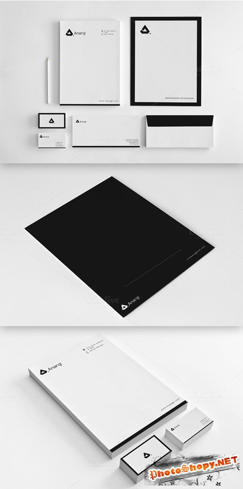 CreativeMarket - Minimalist Stationery Vol. 2