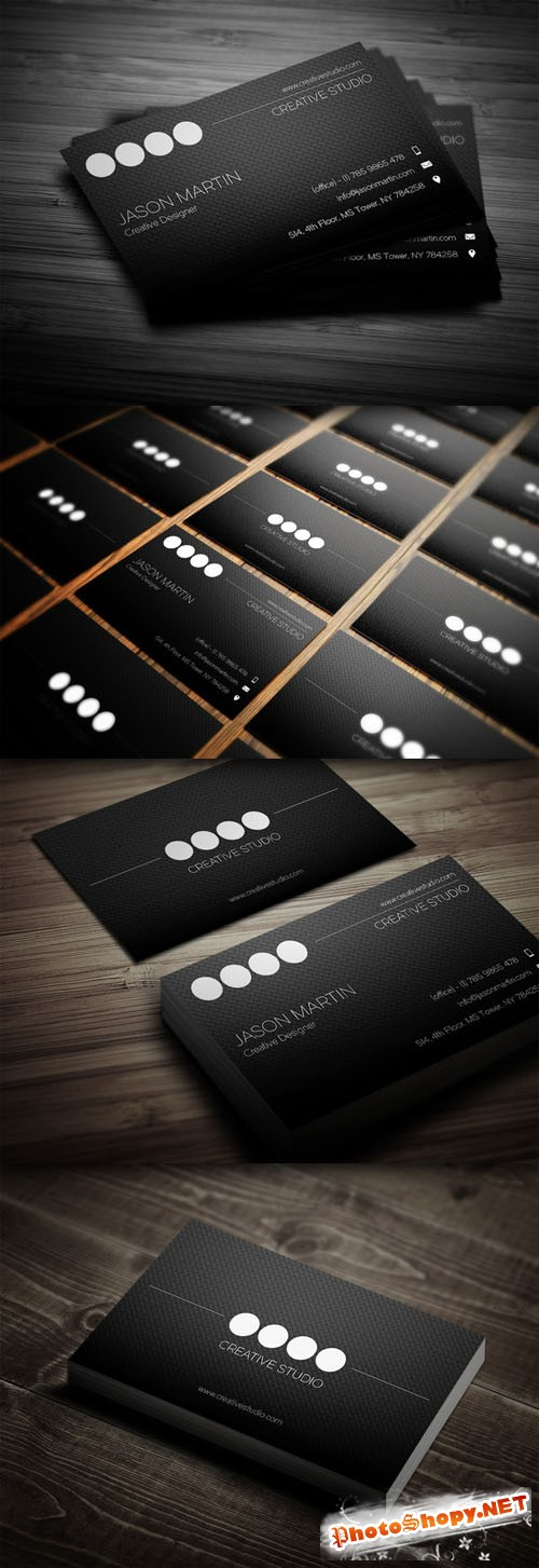 CreativeMarket - Creative Employee Business Card