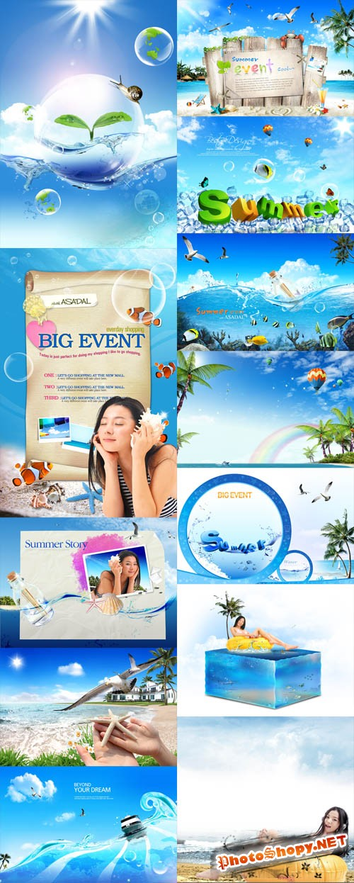 Sources - Summer Events PSD