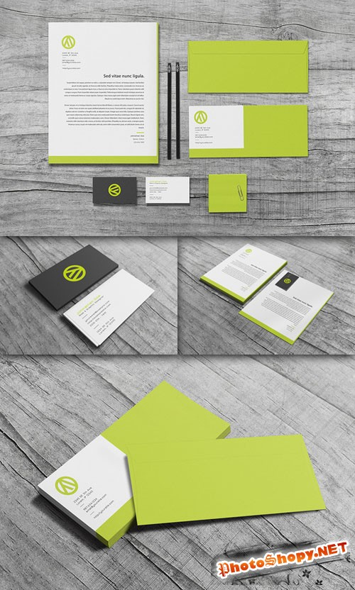 CreativeMarket - Algorithm - Stationery Set