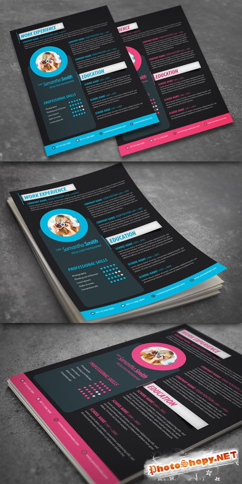 CreativeMarket - Modern Resume Design