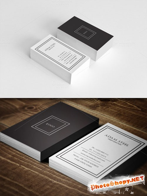CreativeMarket - Simple Business Card Template