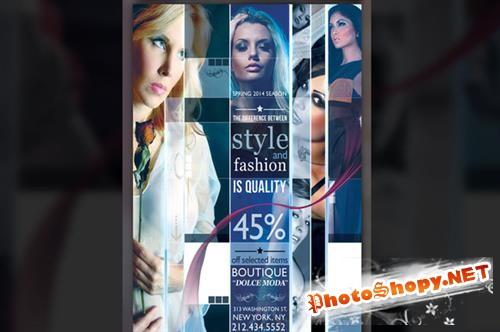 CreativeMarket - Modern Fashion Flyer