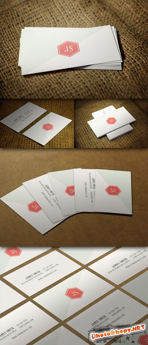 CreativeMarket - Clean Vintage Style Business Card