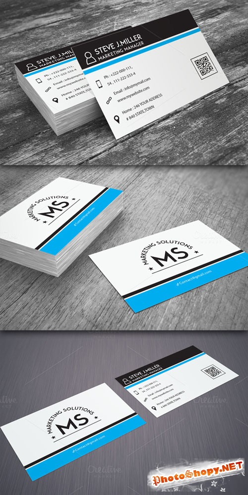 Creativemarket - Minimal Business Card 52080