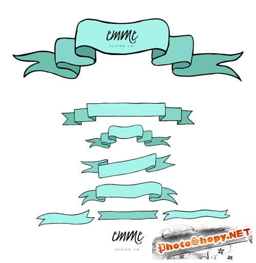CreativeMarket - Hand-Drawn Banners 25367
