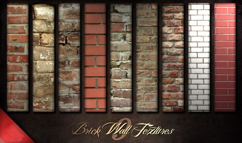 9 High Resolution Brick Wall Textures