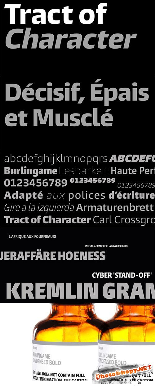 The Burlingame Font Family