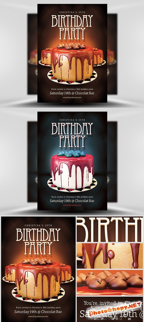 Flyer Template - Birthday