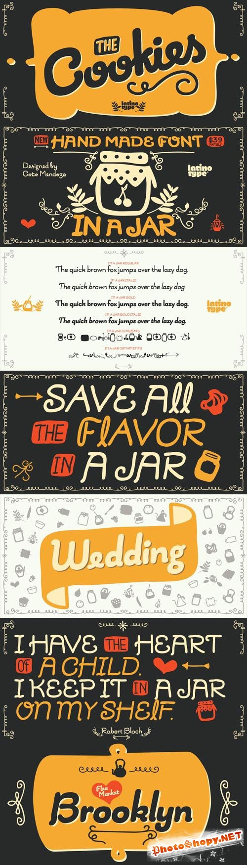 In a Jar Font Family
