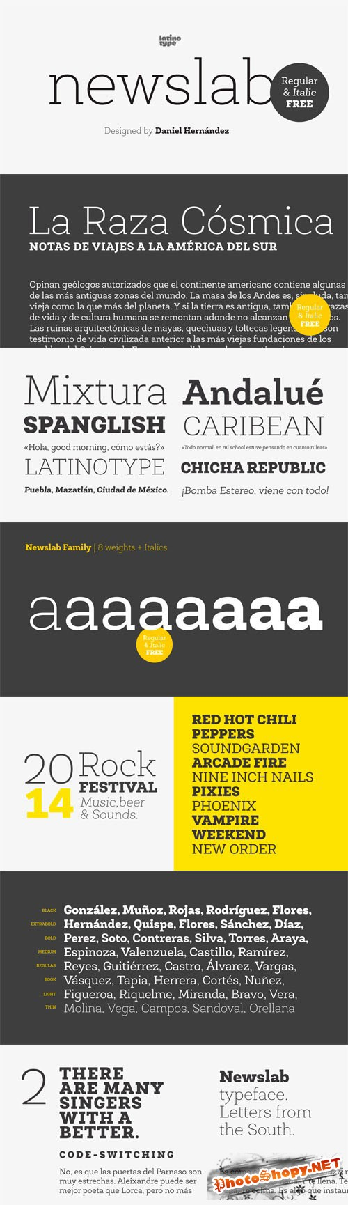 Newslab Font Family
