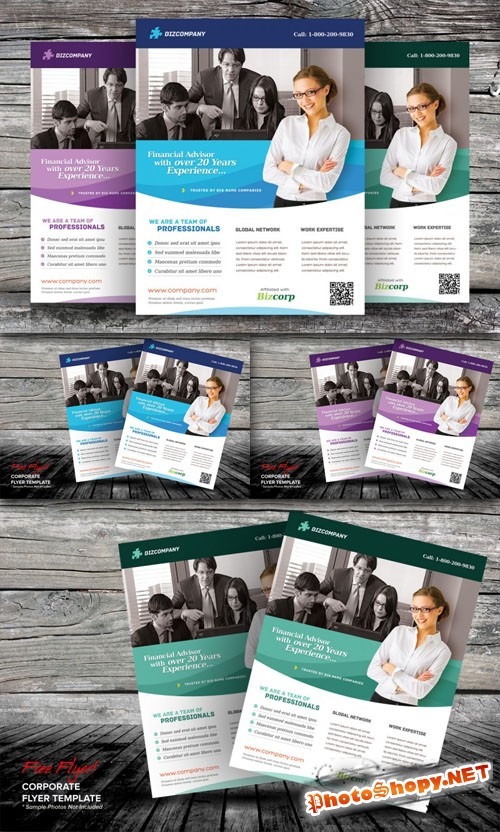 Business Corporate Flyer Photoshop Template
