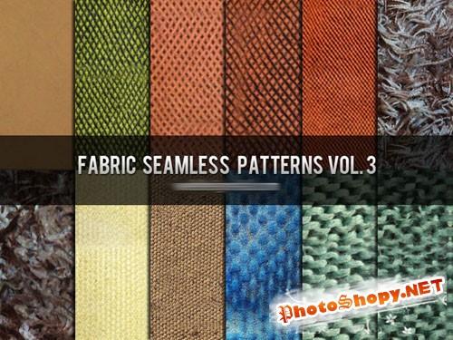 Fabric Seamless Photoshop Patterns Vol. 3